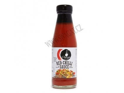 Červená chilli omáčka (Red Chilli Sauce),  CHING'S SECRET 200g