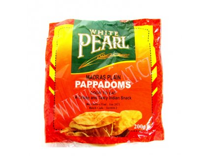 Madras Plain Papad, WP 200g