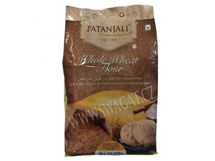 Celozrnná pšeničná mouka Atta (Whole Wheat Flour), PATANJALI 5Kg