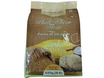 Celozrnná pšeničná mouka Atta (Whole Wheat Flour), PATANJALI 9,07Kg