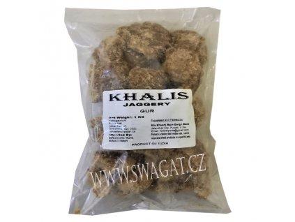 Jaggery (Goor) přírodní palmový cukr, 1Kg