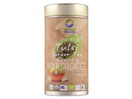 Bio tulsi zelený čaj (Green Tea Classic), OW 100g