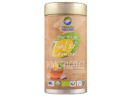 Zelený Bio čaj Tulsi Lemon (Lemon Tea), OW 100g