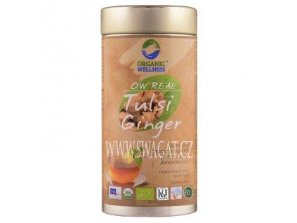 Bio Tulsi zazvorový čaj (Ginger Tea), OW 100g