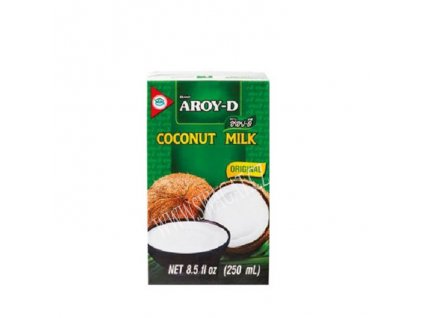 Kokosové mléko, AROY-D 250ml