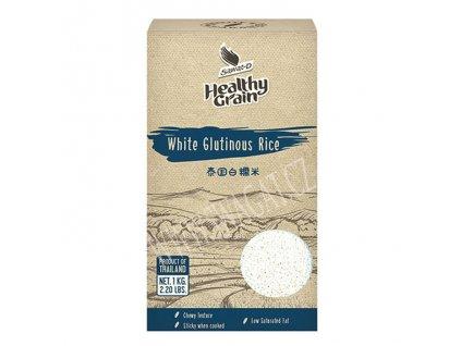Bílá lepkavá rýže (White Glutinous Rice), SAWAT-D 1Kg