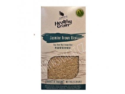 Jasmínová hnědá rýže (Jasmine Brown Rice), SAWAT-D 1Kg