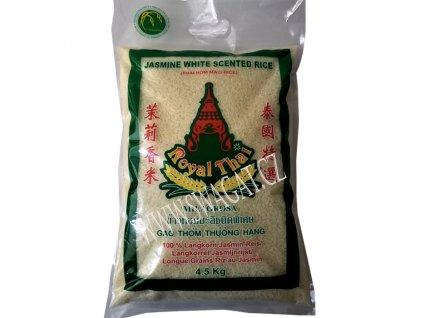 Dlouhozrnná jasmínová rýze (Longgrain Jasmine Rice), ROYAL THAI 4,5Kg
