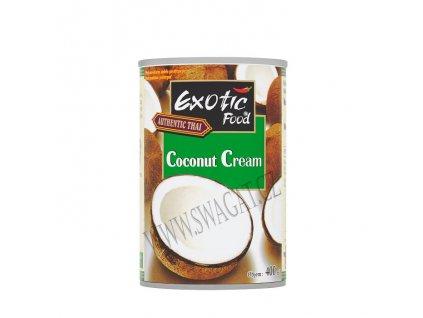 Kokosový krém (Coconut Cream), EXOTIC FOOD 400ml
