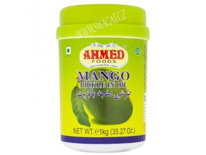 Nakládaný mango v oleji, AHMED FOODS 1kg