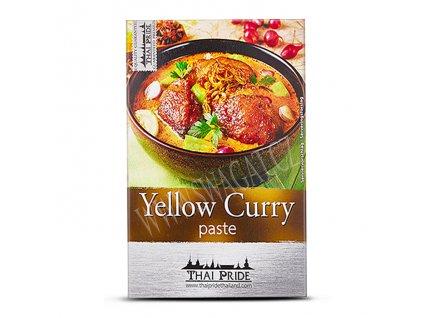 Žlutá kari pasta, THAI PRIDE 50g
