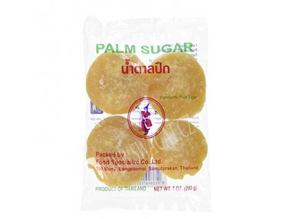 Palmový cukr (Palm Sugar), THAI DANCER 200g