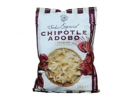 Tortilla Chips Chipotle Adobo, SABOR ESPECIAL 120g