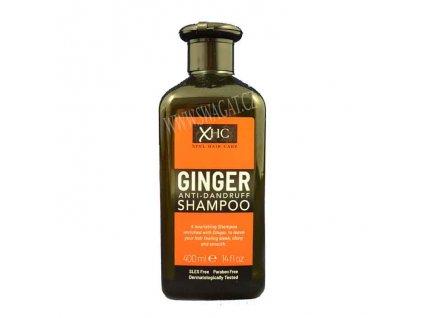 Zázvorový šampón proti lupům, XPEL 400ml