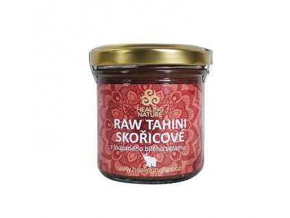 RAW Tahini skořícové (Raw Tahini Cinnamon) 165ml