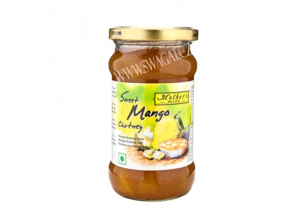 Mango Chutney sládký (Mango Chutney Sweet), Mother`s Recipe 340g