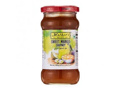Mango Chutney sládký (Mango Chutney Sweet), Mother`s Recipe 340g