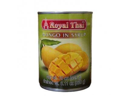Mango v sirupu (Mango in Syrup), ROYAL THAI 425g