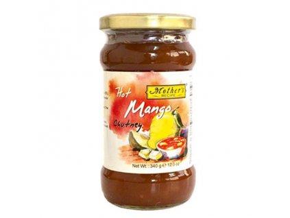 Mango Chutney ostrý (Mango Chutney Hot), Mother`s Recipe 340g