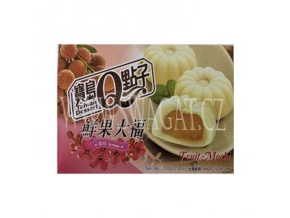 Japonské Mochi s příchutí liči (Mochi Lychee), TAIWAN DESSERT 210g