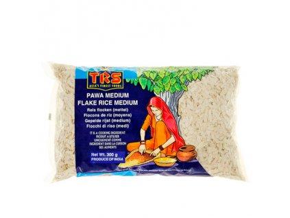Rýžové vločky Pawa střední (Rice Flakes Medium), TRS 300g