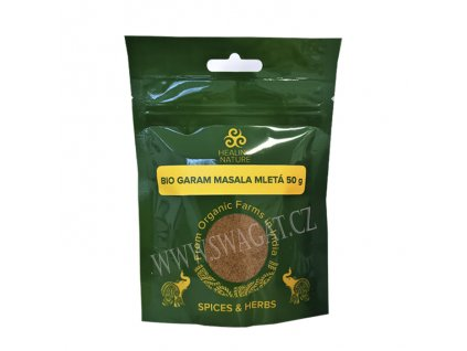 BIO Garam Masala, HEALING NATURE 50g