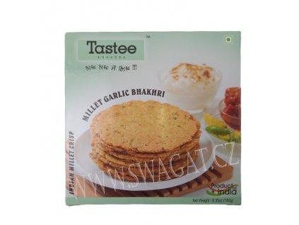 Snack Garlic Bhakhri, TASTEE KHAKHRA 180g