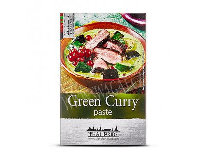 Zelená kari  pasta (Green Curry Paste), THAI PRIDE 50g