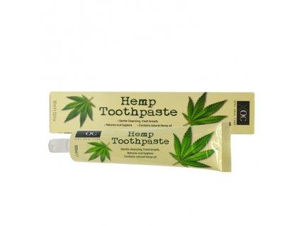 Konopná zubní pasta (Hemp Toothpaste), XOC 130g