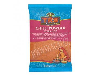 Extra pálivý chilli mletý (Extra Hot Chilli Powder), TRS 400g