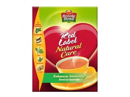 Černý čaj Red Label Natural care, BROOKE BOND 500g
