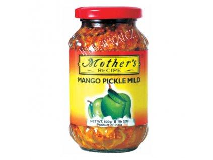 Nakládaný Mango jemně pikantní (Mango Pickle Mild), 500g
