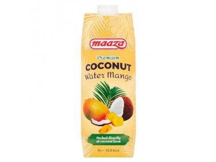 Kokosová voda s mangem Premium, MAAZA 1L