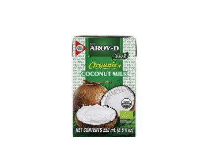 Bio kokosové mléko, AROY-D 250ml