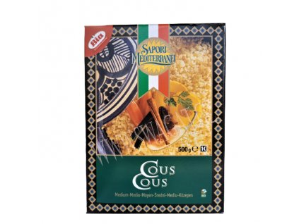 Kuskus (Couscous), SAPORI MEDITERRANEI 500g