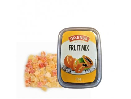 Směs proslazené papáji a pomerančové kůry, DR.ENSA 100g