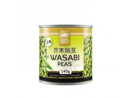 Zelený hrášek ve Wasabi, GOLDEN TURTLE 140g