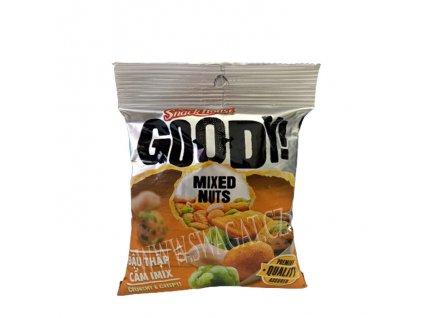 Mix křupavých ořechů (Mixed Nuts), GOODY! 40g