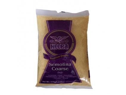 Suji - mouka semolinová hrubá, HEERA 375g