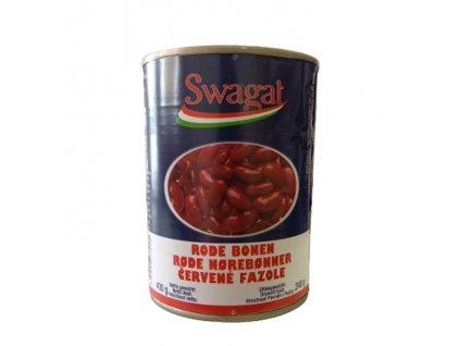 SWAGAT Konzervované červené fazole 400g