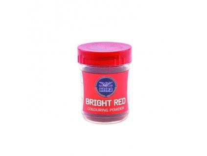 Potravinářská barva prášková jasně červená, HEERA 25g