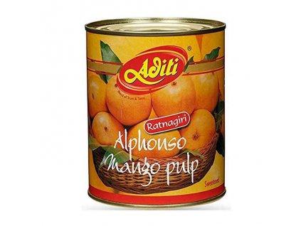 Alphonso Mangové pyré (Mango Pulp), ADITI 860g