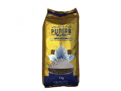 PUNJAB KING, Basmati rýže XXL 1Kg