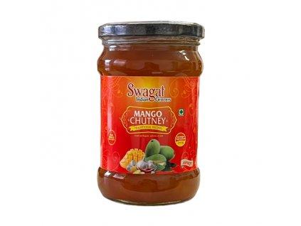 Mango Chutney ostrý (Hot), SWAGAT 320g