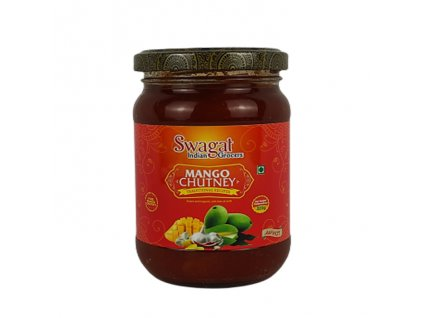 Mango Chutney ostrý, SWAGAT 320g