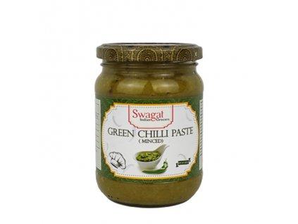 SWAGAT Pasta z mletých zelených chilli 300g