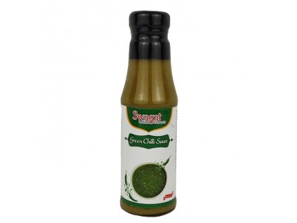 SWAGAT Omáčka ze zeleného chilli 200g