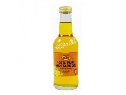 Čístý Hořčičný olej (Pure Mustard Oil), KTC 500ml