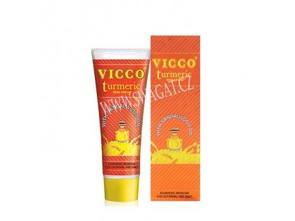Kurkumový pleťový krém s santalovým olejem, VICCO 30g