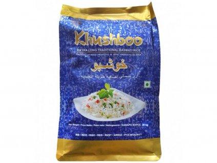 Basmati rýže Premium XXL, KHUSHBOO 5Kg